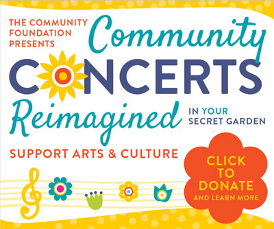 Community Concerts - Donate Now
